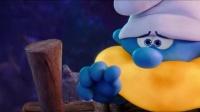 蓝精灵智力担当聪聪秒做木筏,这动手能力真是绝了!