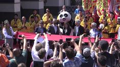 好莱坞环球影城功夫熊猫项目开幕