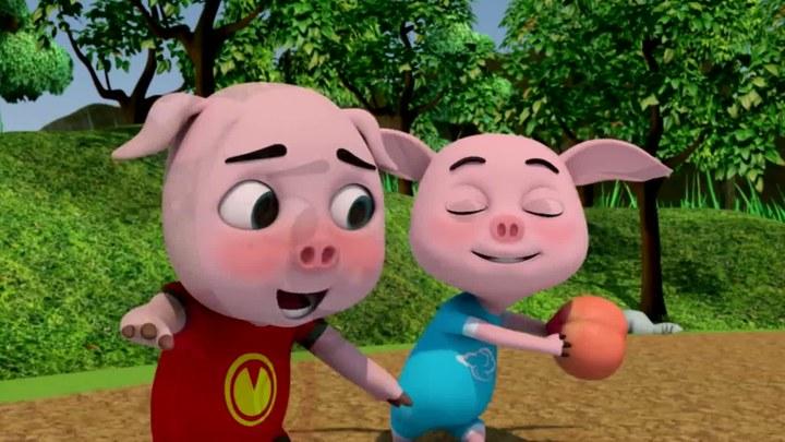 白雪公主和三只小猪 MV:主题曲《当美丽遇上萌》 (中文字幕)
