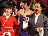 第16届上海国际电影节闭幕式红毯秀:方文山携徐娇汉服惊艳亮相