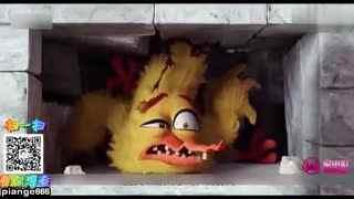"""片儿哥侃电影 《愤怒的小鸟》蠢萌胖红为拯救小岛 甘愿成为""""老司机"""""""