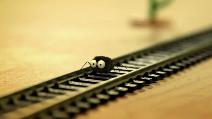 昆虫总动员 片段4:火车大劫案