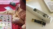 幼儿使用点读笔突然爆炸