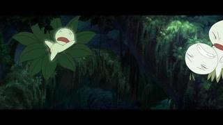 神灯能量被吸走! 绿色精灵奄奄一息