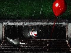 《小丑回魂》正片片段 下水道恶魔头顶红气球