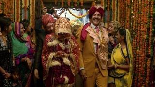 厕所英雄:贾娅凯沙夫婚礼 超华丽众人庆祝