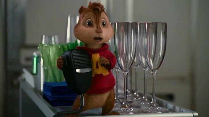 鼠来宝3 片段2:Thank You For Choosing Air Alvin