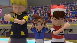 小东因输掉比赛而自责 队友却不断鼓励他