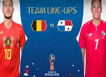 俄罗斯世界杯比利时VS巴拿马比赛现场直播