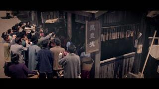 街头架机枪扫射中国民众