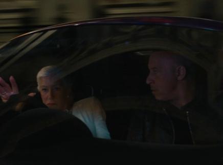 《速度与激情9》海伦·米伦载范·迪塞尔伦敦漂移 献系列飙车首秀