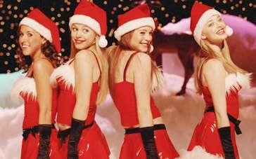 《贱女孩》经典片段 塞弗里德可爱圣诞装舞姿俏皮