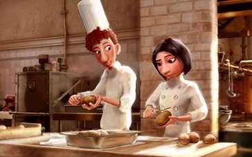 《美食总动员》片段 学做菜