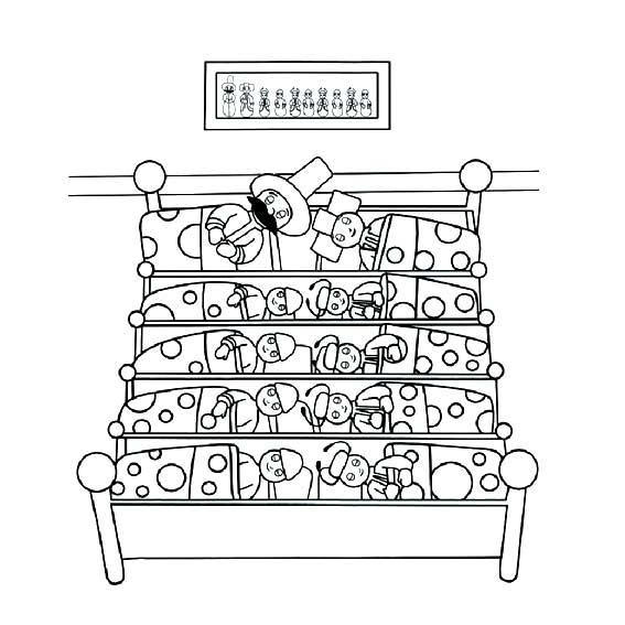 表情 花园宝宝一家在睡觉简笔画 花园宝宝欢迎你 育才简笔画 表情