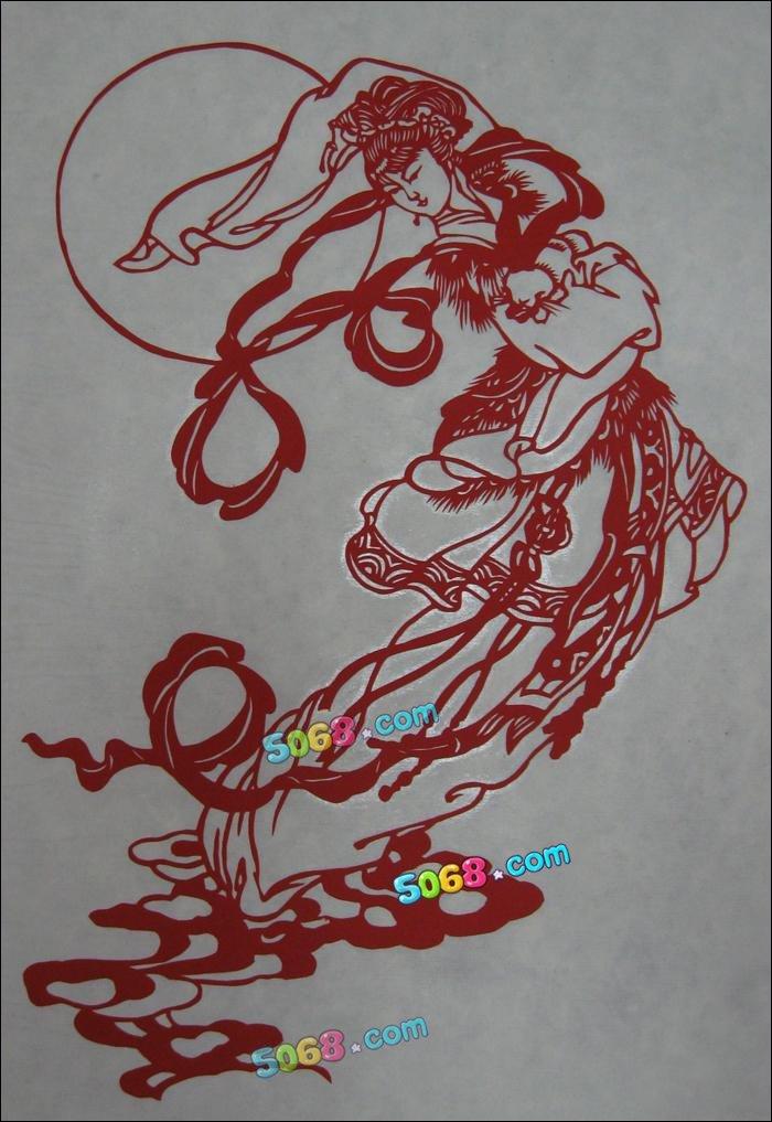 表情 嫦娥在月宫简笔画 嫦娥在月宫简笔画画法 表情