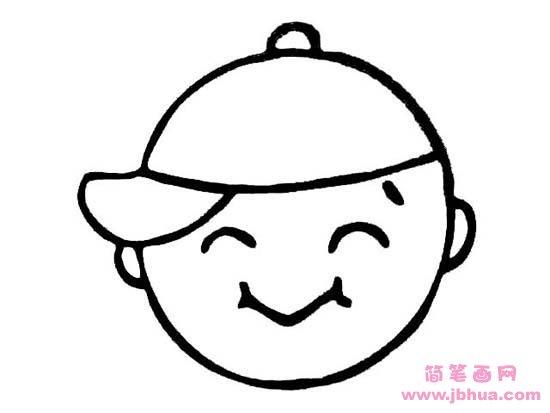 表情 简笔画网 www.jbhua.com 表情