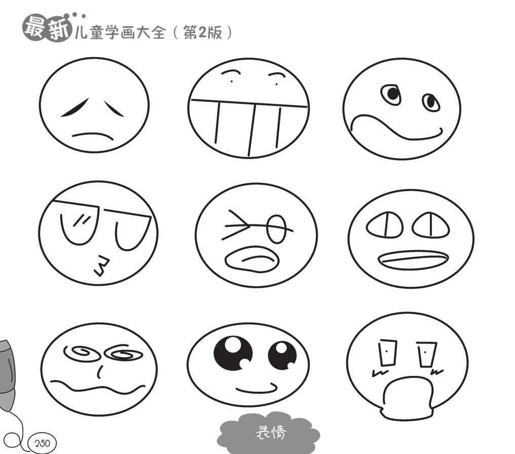 表情 你身边的人物 表情篇 亲子资源 幼儿手工制作教程及儿童简笔画资源  表情