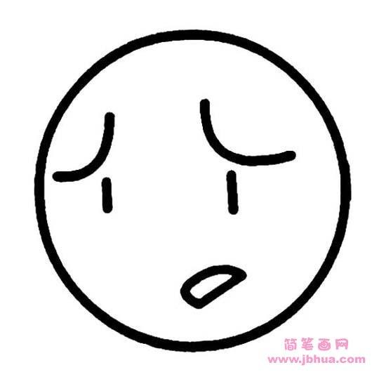 表情 p 简笔画网 www.jbhua.com 表情