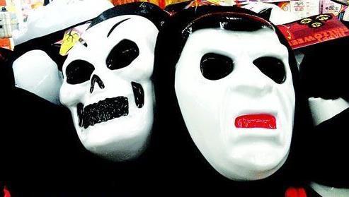 表情 万圣节面具制作方法万圣节面具自制教程 表情