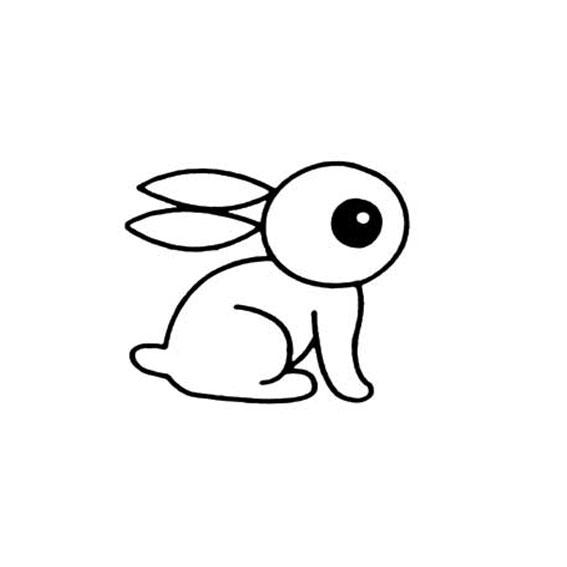 表情 兔子简笔画图片大全 可可简笔画 表情