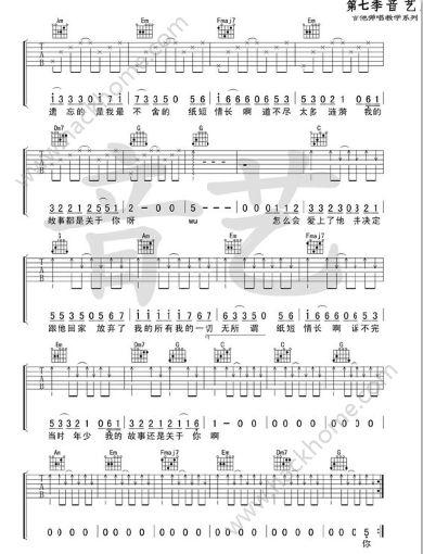 纸短情长钢琴简谱数字抖音纸短情长钢琴谱图片第1页 热门资讯 嗨客