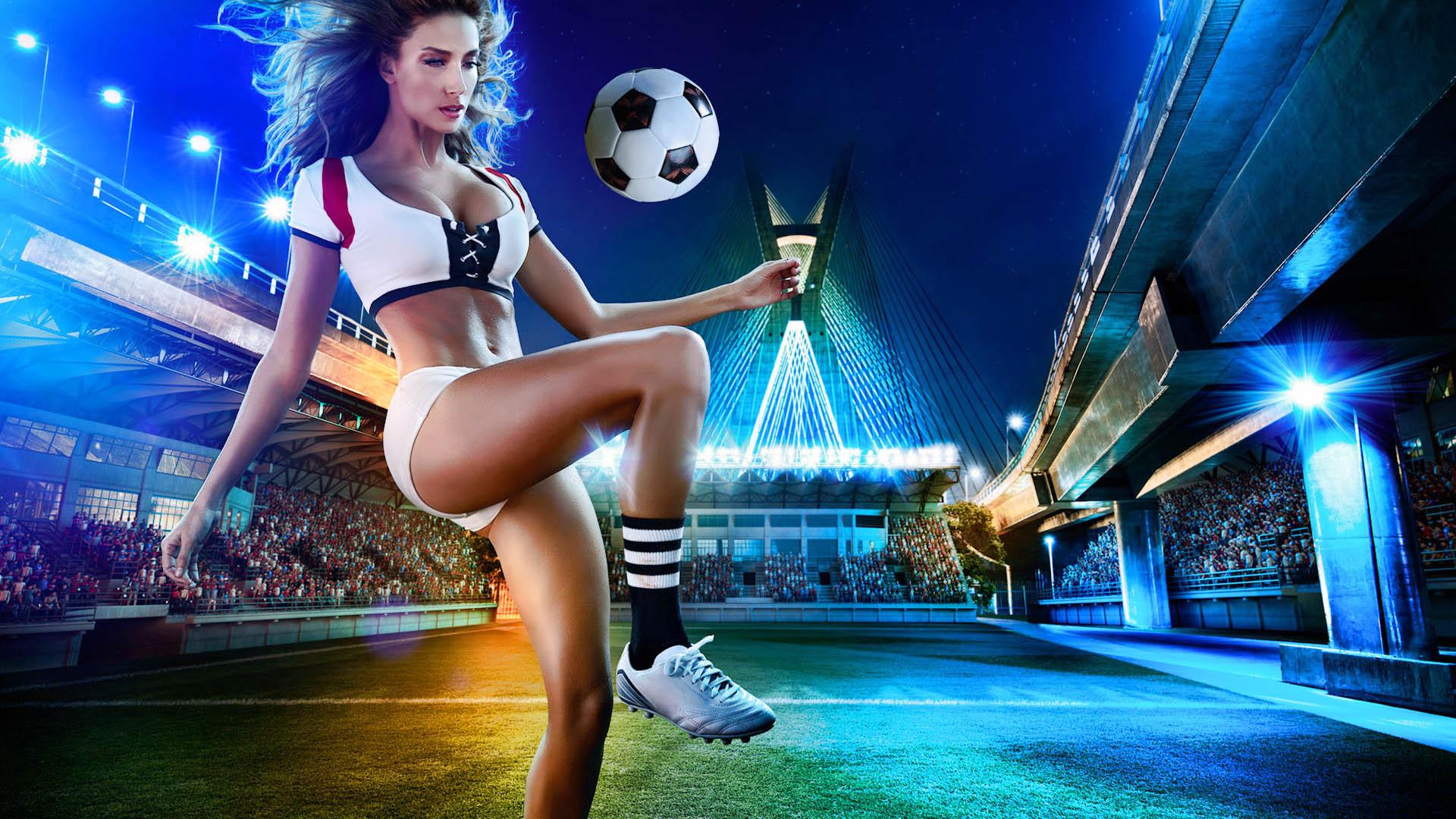 足球宝贝带你看巴西世界杯