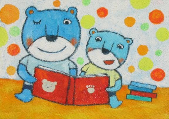 表情 小熊和熊妈妈一起看书简笔画 小熊和熊妈妈一起看书图片欣赏 小熊和熊  表情