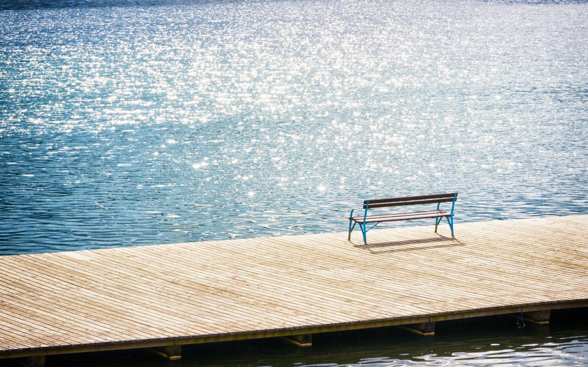 孤独忧伤的风景桌面壁纸