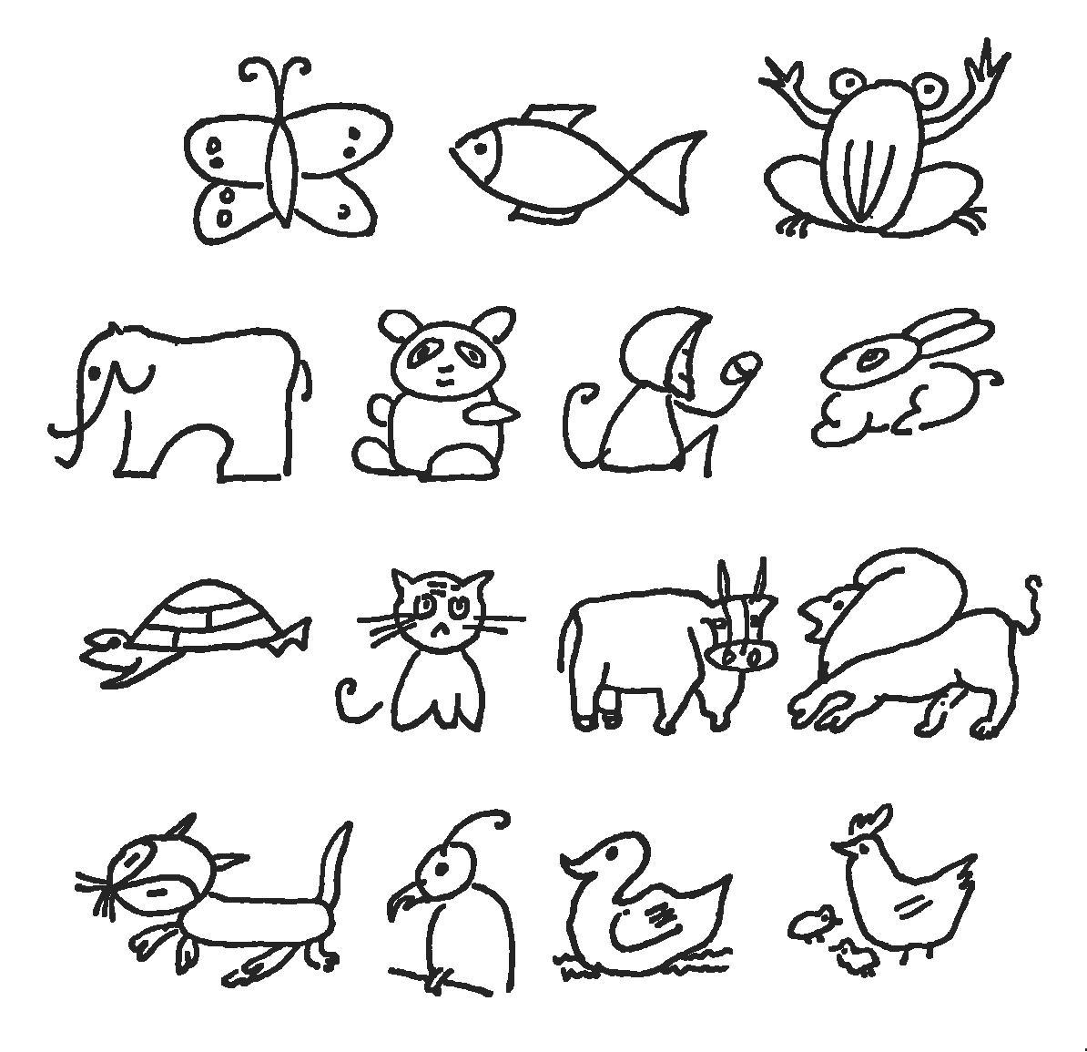 表情 儿童简笔画简笔画 儿童简笔画图片欣赏 儿童简笔画儿童画画作品 有伴网 表情