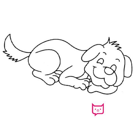 表情 惊吓的狗简笔画 惊吓的狗简笔画画法 表情
