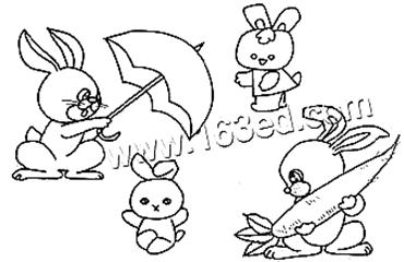 表情 小兔疑惑的表情简笔画 小兔疑惑的表情简笔画画法 表情