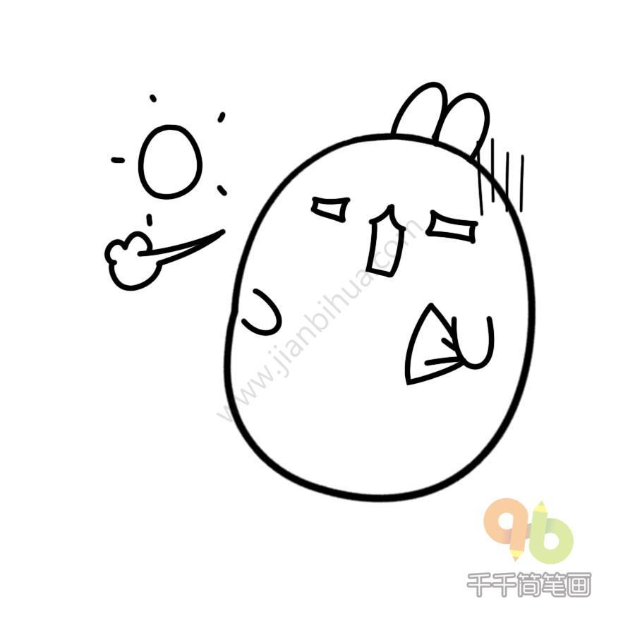 表情 土豆兔 热 表情包千千简笔画简笔画图片大全 表情