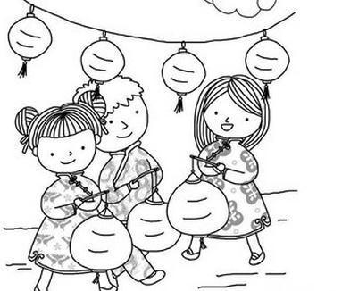 表情 中秋节的简笔画 儿童作品中秋节简笔画 除夕的简笔画 腊八节的简笔画 大呱网 表情