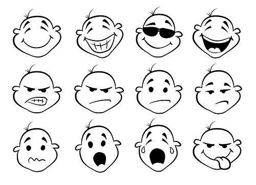 表情 小表情图片大全简笔画图片 12张 表情图片 表白句 表情