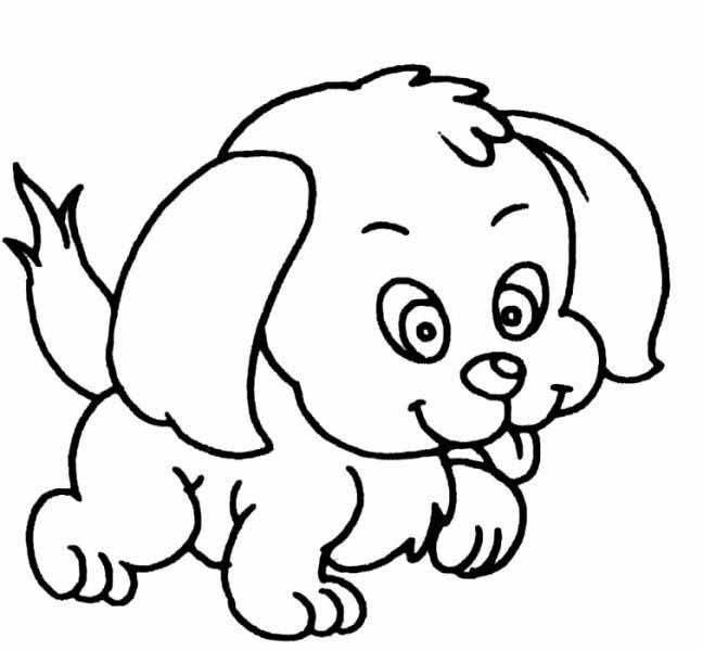 表情 狗狗表情简笔画 第1页 一起QQ网 表情