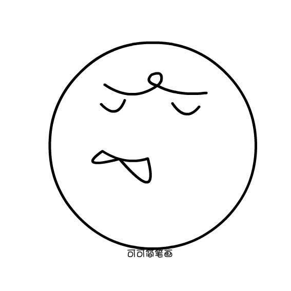 表情 简笔画表情图片 3 卡通动漫简笔画 艺美术 表情