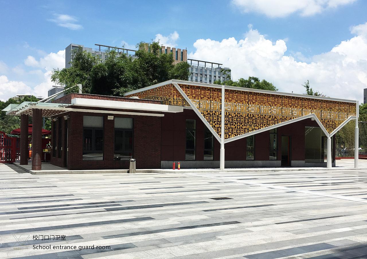 大门 门卫室 厂区大门 传达室 艺术大门类建筑设计方... - 产品网