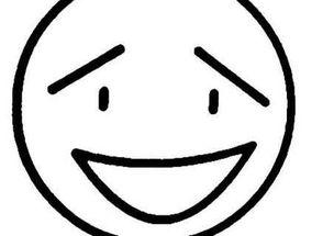 表情 笑脸表情图片简笔画 开心笑脸简笔画 笑脸图片简笔画黑白 梨子网 表情