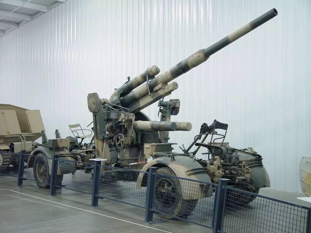 表情 88毫米高射炮 二战最成功火炮 表情
