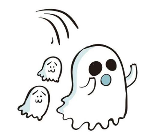 表情 万圣节几种Q版幽灵的简笔画法教学 长沙西格网 表情