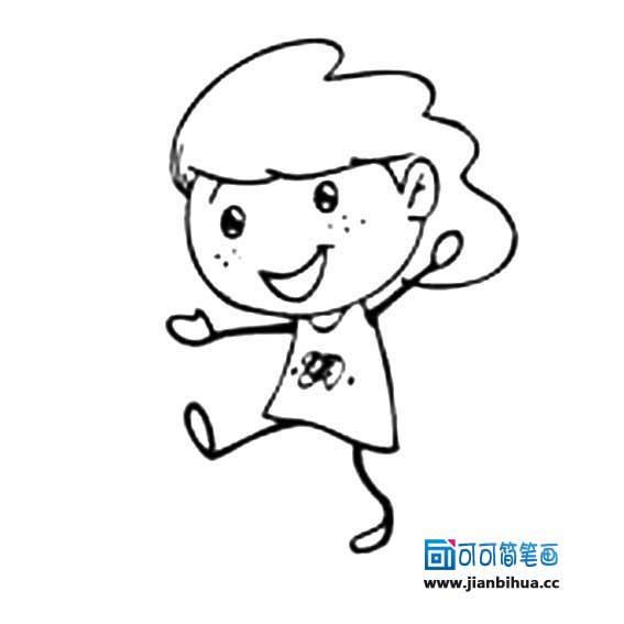 表情 前可可简笔画 www.jianbihua.cc 表情