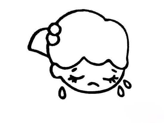 表情 赌博平台注册送彩金 人物表情简笔画图片 哭泣的小女孩 巧巧简笔画 表情