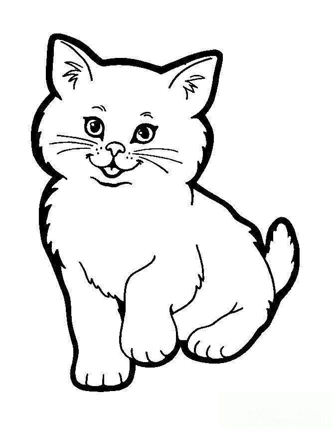 表情 小猫简笔画图片大全 儿童小猫简笔画图片 学习啦 2017新年开户注册送  表情