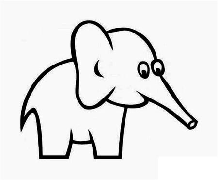 表情 大象简笔画 大象简笔画图片大全 大象简笔画步骤 太平洋亲子网 表情