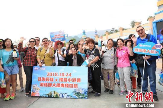 业界 港珠澳大桥通车或掀起香港游客珠海旅游热潮 中新网 表情