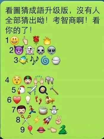 表情 微信QQ表情猜成语答案看图猜成语所有答案 百度知道 表情