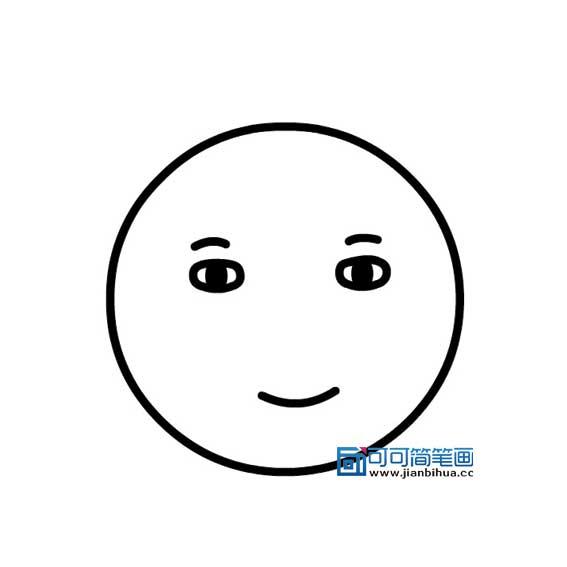 表情 人物表情简笔画大全笑的表情画法 可可简笔画 表情