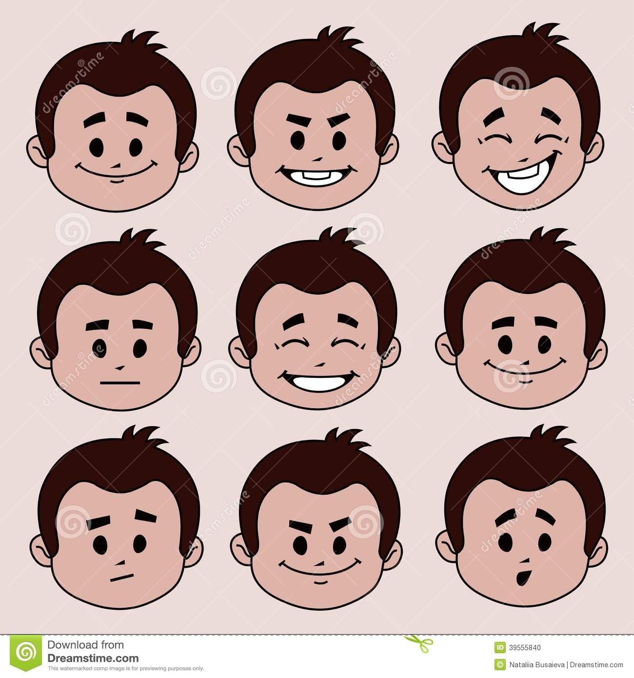 16个兴奋高兴表情人物图片_素材公社