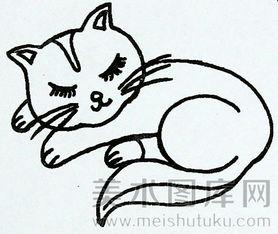 表情 呆萌猫简笔画 呆萌简笔画可爱表情包 超呆萌可爱卡通简笔画 超萌可爱小狗  表情