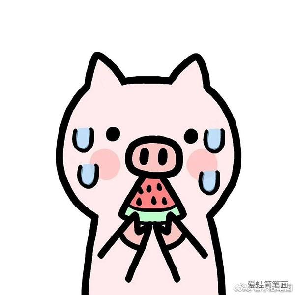 表情 萌萌哒猪猪头表情包 表情图片 简笔画大全 表情